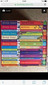 Roald Dahl phizz whizzing book box set 15 classics
