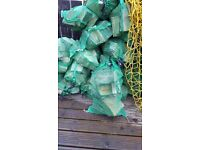 FIREWOOD large bagged seasoned hard wood for sale