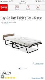 Jay be single bed excellent almost new