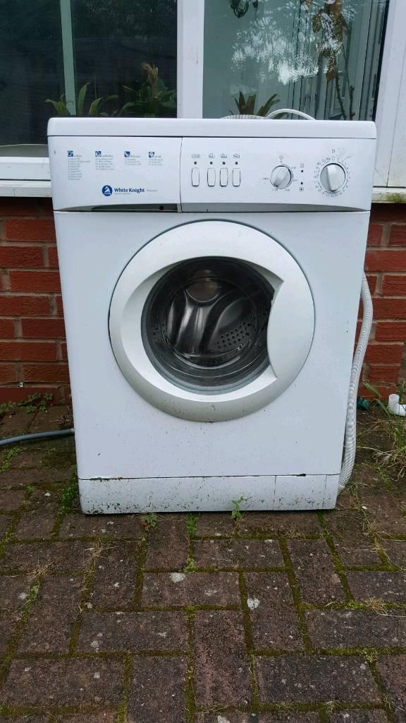Washing machine spare or repairs whiteknight