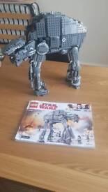 Lego star wars first order walker