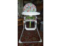Mamas & Papas Highchair baby feeding excellent used condition