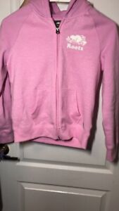 Pink roots zip-up - brand new never worn with tag