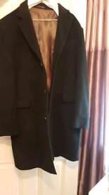 Mens designer overcoat xlarge