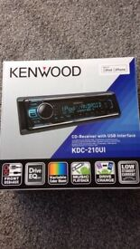 Kenwood KDC-210UI CD receiver with USB interface.