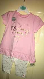 BNWT baby girl outfit