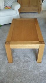 Solid Oak Lucerne Coffee Table