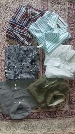 Men's casual shirts size Large & X Large