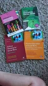 Practice education social Work books