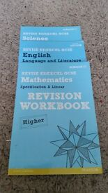 GCSE Books mixed Exam Boards revision guides and workbooks