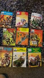 ANOTHER SMALL COLLECTION OF ARMY COMICS.
