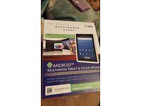 """Pandigital multimedia novel 7"""" 4GB. Tablet/ereader"""