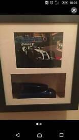 Formula 1 crash debris display from Ralph Schumacher car Silverstone