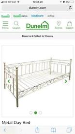 Dunelm day bed ( opt mattress)