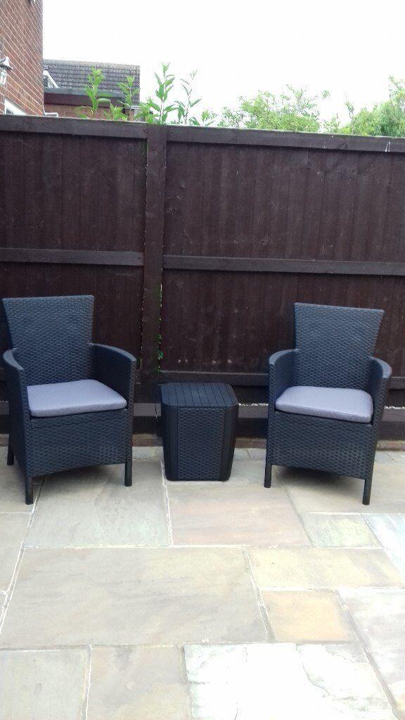 rattan garden furniture set brand new