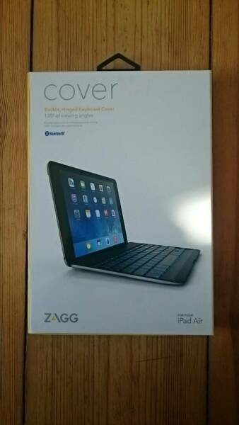 zagg ipad air cover tastatur h lle keyboard in berlin. Black Bedroom Furniture Sets. Home Design Ideas