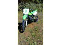 Kx100 2001 small wheel