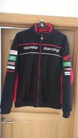Honda Racing Fleece & Original Calvin Klein Leather Jacket.