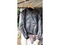 RST leather motorbike jacket ,
