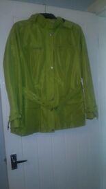 Ladies Maine waterproof jacket