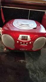Cd and radio player