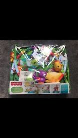 Fisher-Price Music and Lights Deluxe Rainforest Gym Playset. Brand new not opened
