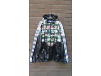 Adidas Originals Colorado HT Black Printed Jacket, Like New, Size XL