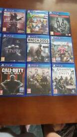 ******ps4 games10 pounds each or 2 for £15 *****