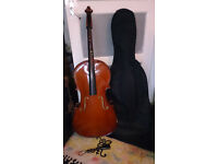 Stentor 1/2 size Cello in Case