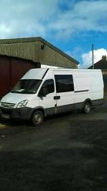 Brand new mot Iveco daily 2.3 converted extra long wheel base