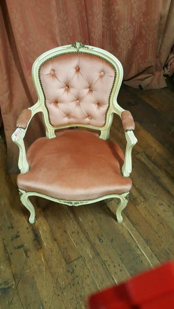 Vintage French antique chairs