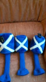 SCOTLAND GOLF WOOD HEADCOVERS