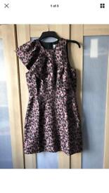 Leopard Print Dress - size 12