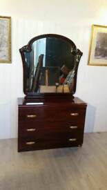 Eddi Rose Collection Italian Chest of Drawers and Mirror