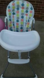 My childs highchair in ex condition