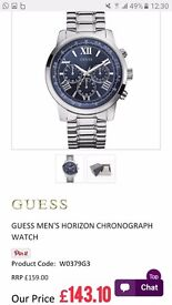 GUESS MEN'S HORIZON CHRONOGRAPH WATCH