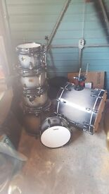 Ludwig Element 6 piece drum kit with extras