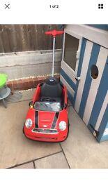 Mini Cooper kids buggy