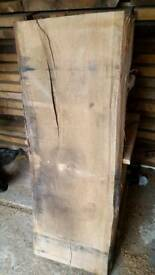 Red oak and sycamore wood/wooden planks, slabs for sale.
