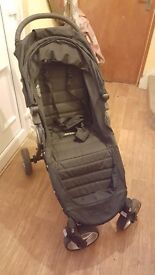 Baby jogger city mini with carseat and adapters