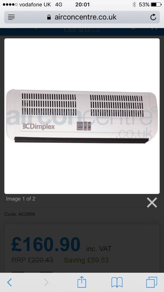 Dimplex heater for sale