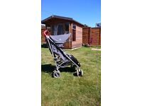 Maclaren Techno XT Pushchair Buggy Stroller inc Rain Cover and Cozytoes