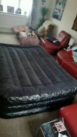 Very large double self inflatable bed