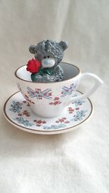 "Tatty Teddy Me to you - 2012 Collection Ornament "" Fancy a Cuppa"""