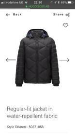 Hugo boss puffa jacket