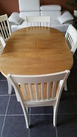 Dinning set - table and 5 chairs