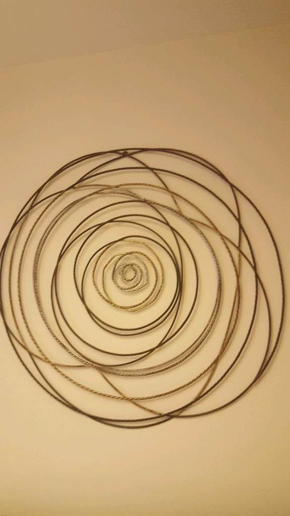 Excellent Circle Metal Wall Art Gallery - Wall Art Design ...