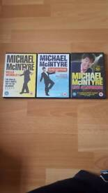 Michael McIntyre live stand up dvds x 3
