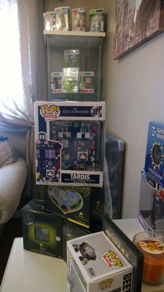 Limited edition Funko POP Tardis Clara Memorial Oversize 227 Doctor Who
