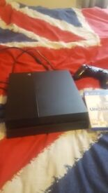Playstation 4 for sale with 10 games and one contoller. Only selling as now have xbox one x